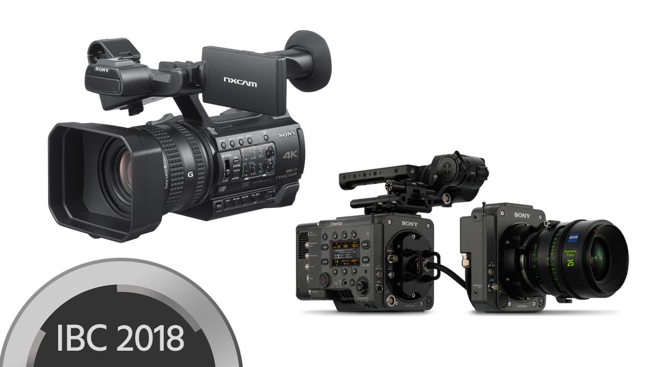 Sony Anuncia Nueva Cámara HXR-NX200 y Próximas Actualizaciones Para la VENICE