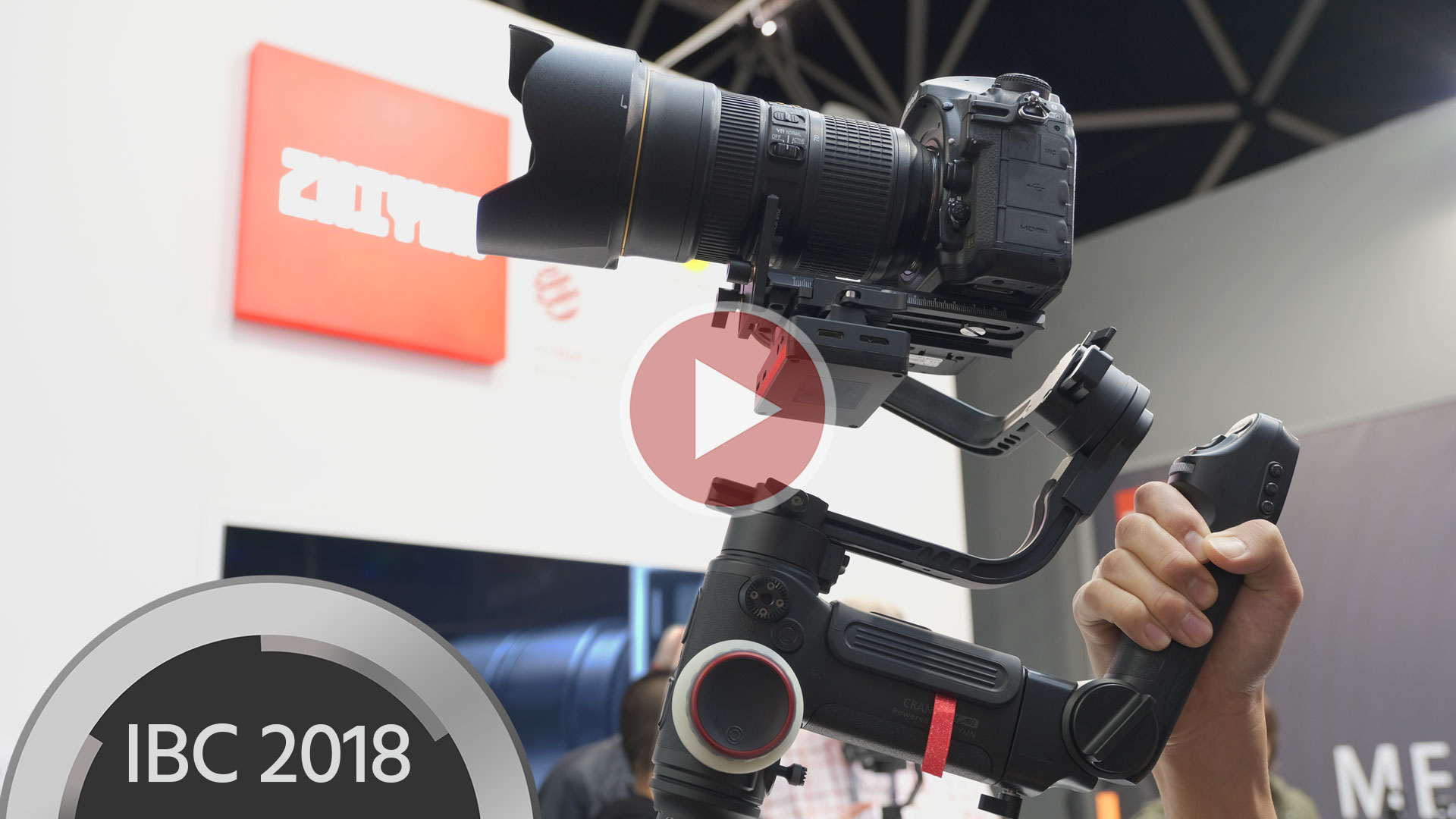 Zhiyun-TechがCrane 3 LABとWeebil LABハンドヘルドジンバルを発表