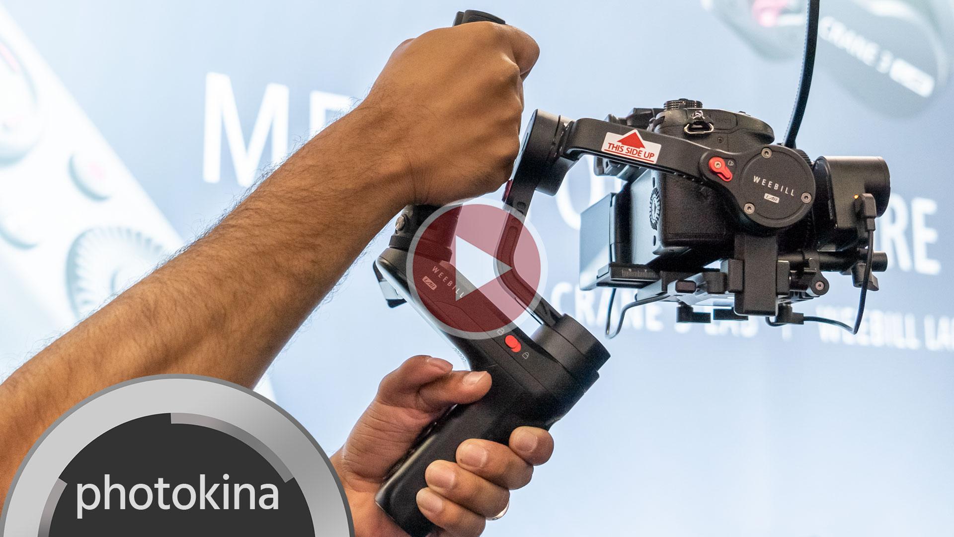 Zhiyun-TechがWEEBILL LABを発表 - ミラーレスカメラ用ジンバル