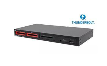 Blackjet UX-1 Cinema Dock - Editing and Ingesting at 2750 MB/s using Thunderbolt 3