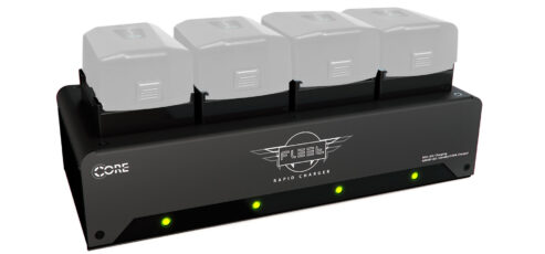 Core SWX Fleet FF Charger – Juice Up 4 MōVI Pro Battery Packs in 45 Minutes