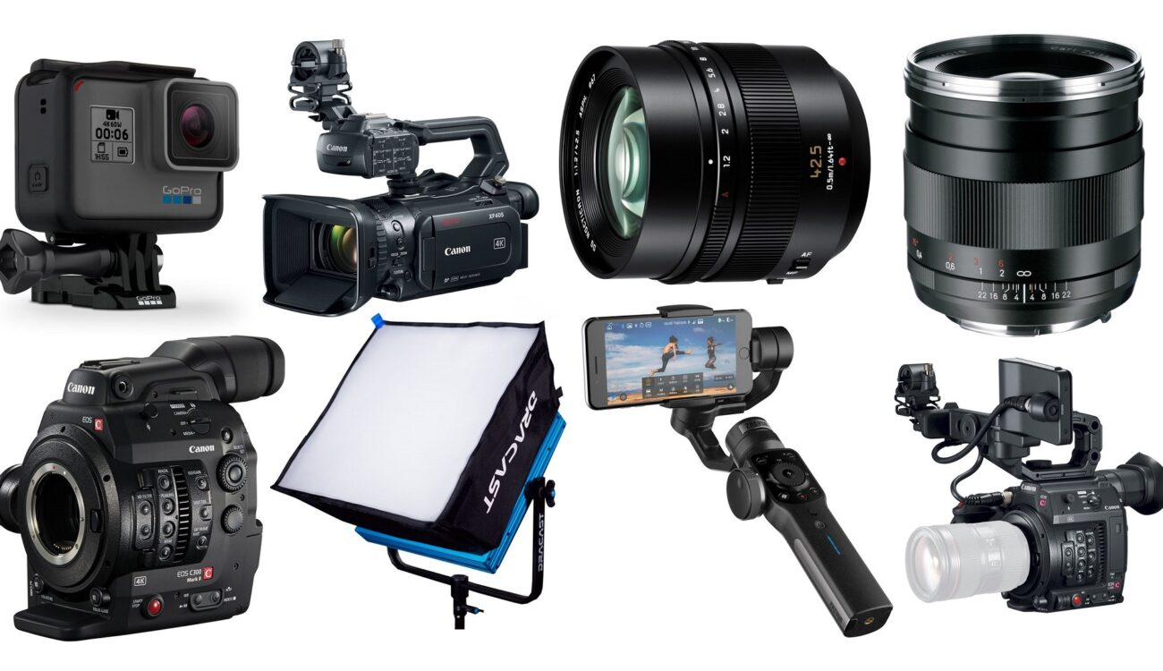 This Week's Top 10 Deals for Filmmakers – GoPro, Canon Cinema Cameras, Lenses and more