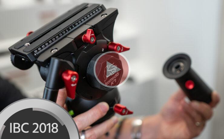 iFootage Komodo K7 Fluid Head Prototype Presented