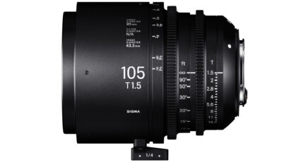 SIGMA Adds 28mm, 40mm and 105mm to Cine Lineup