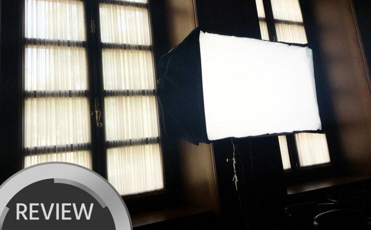 Velvet Light 2 Review - A Rainproof LED Panel with 95 CRI