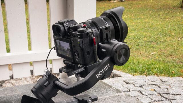 XT-3 gimbal Ronin S DJI