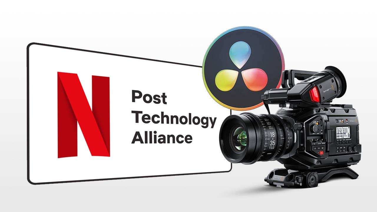 Blackmagic Design in Netflix Post Technology Alliance
