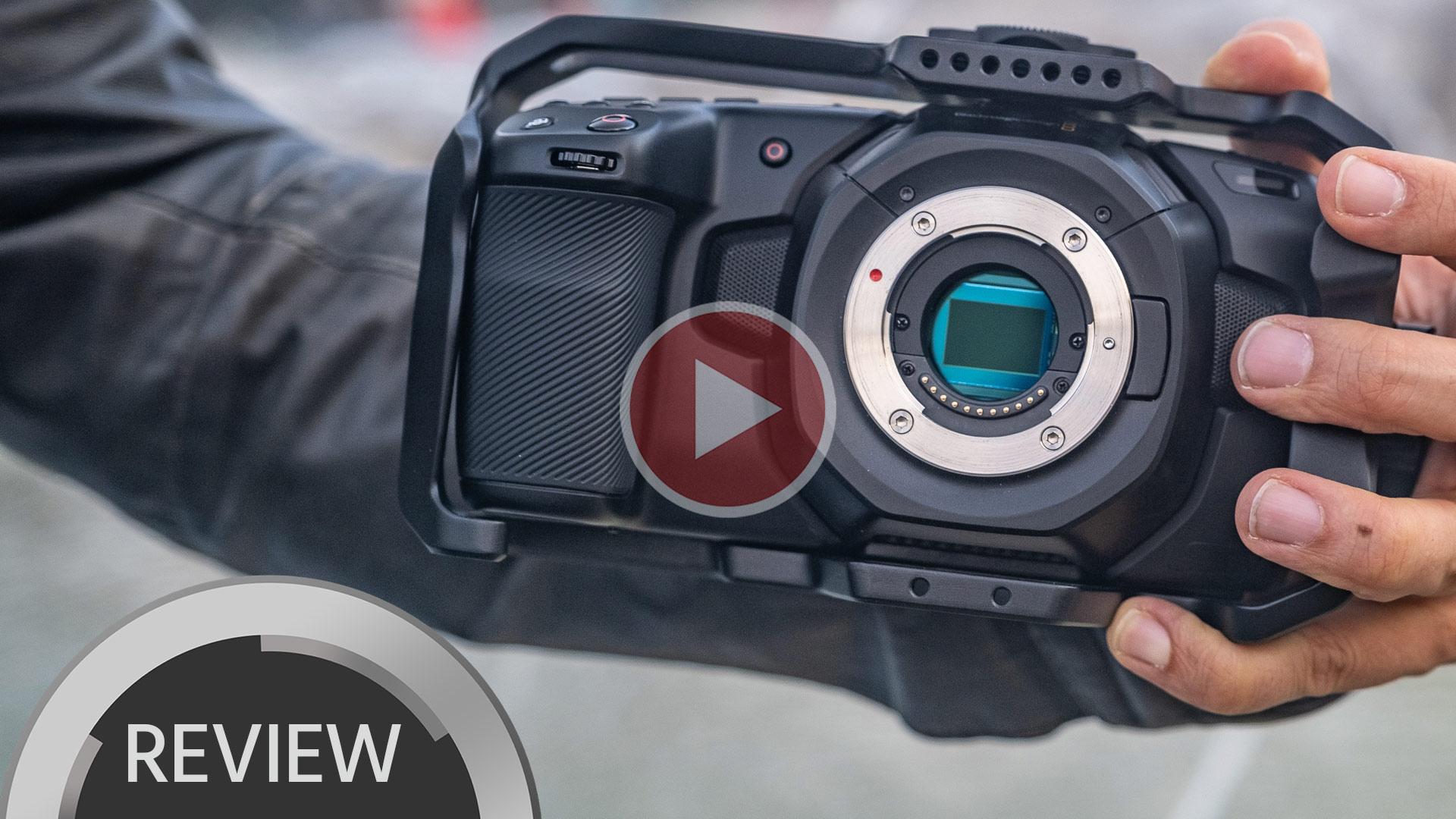 ブラックマジックPocket Cinema Camera 4Kレビュー