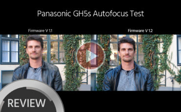 Massively Improved Autofocus Performance for GH5s, GH5 and G9 with New Firmware