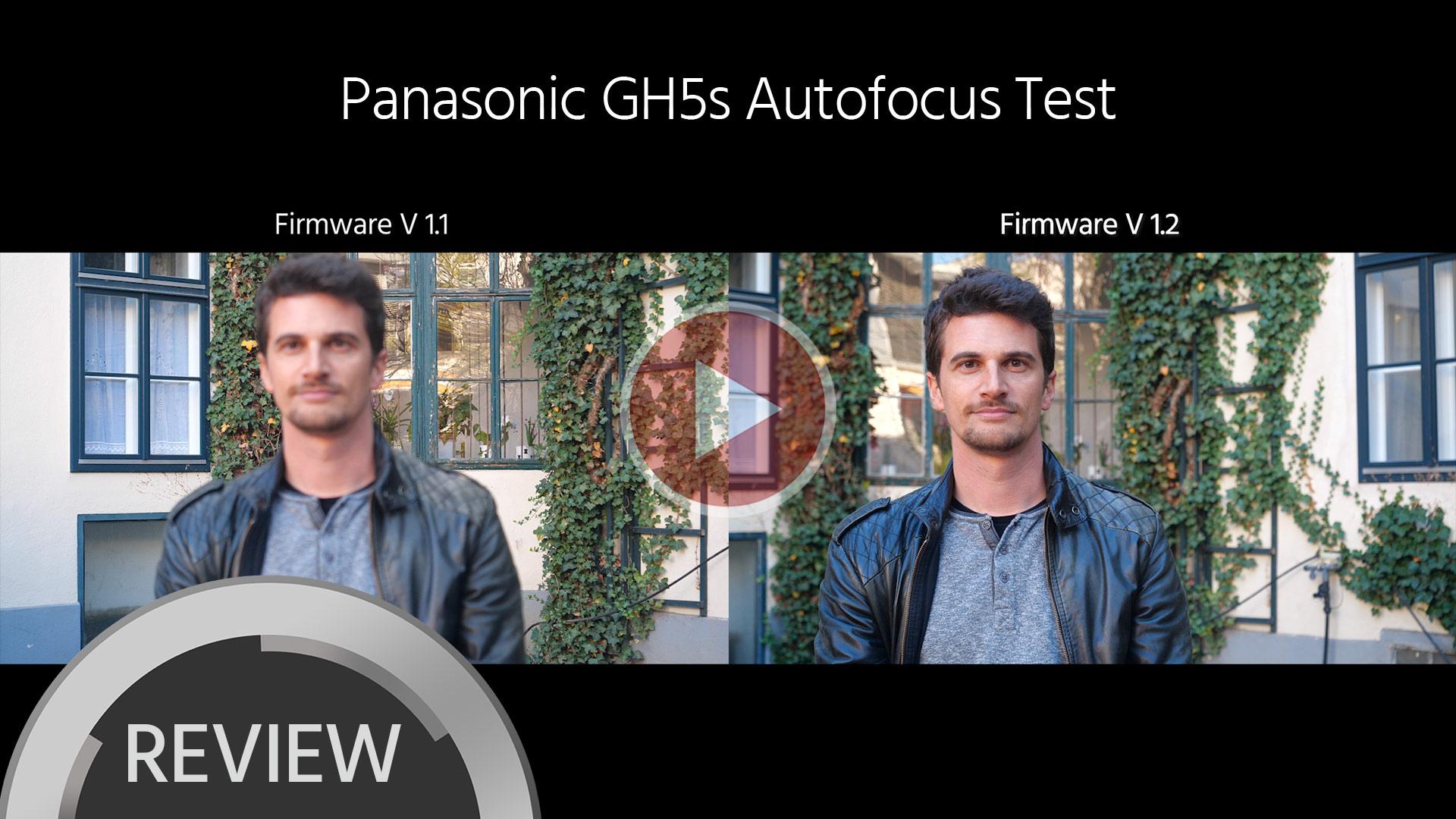 パナソニックがGH5s、GH5、G9の新ファームウエアをリリース - オートフォーカスを大幅に改善