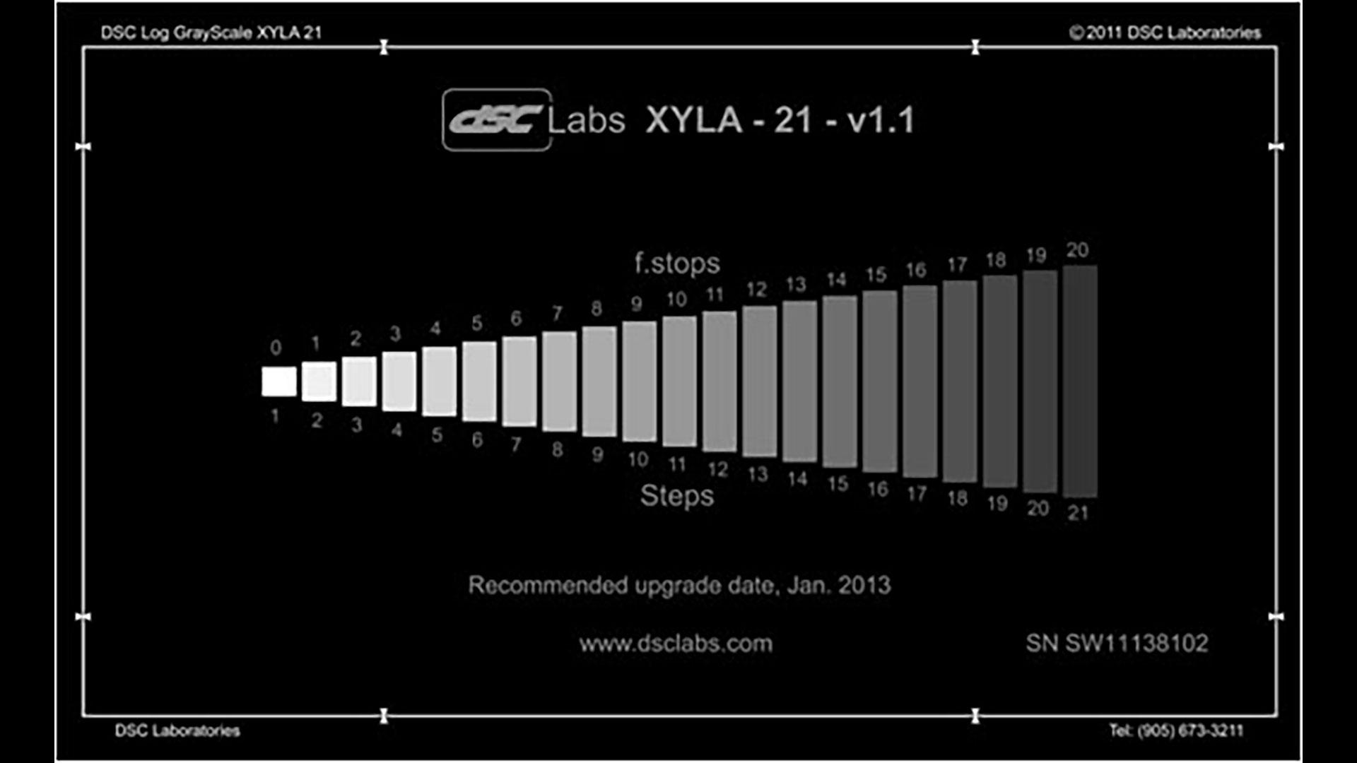 The cinema5D Camera Lab is Back - Dynamic Range Tests | cinema5D