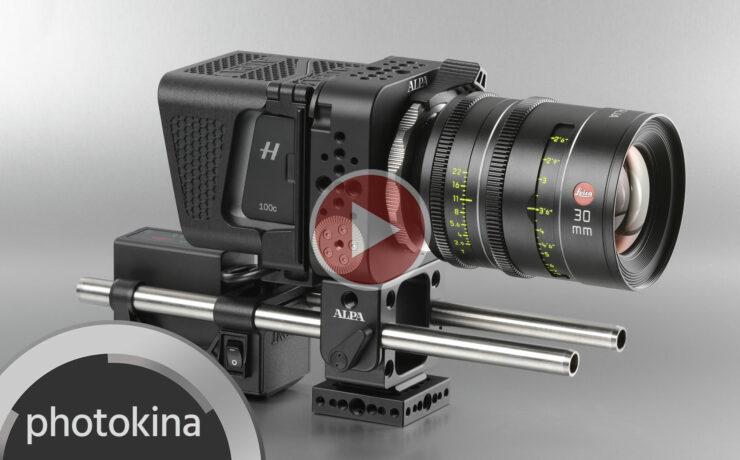 ALPA PLATON - Rehousing Hasselblad Medium Format Cameras for 4K RAW Video (edited)