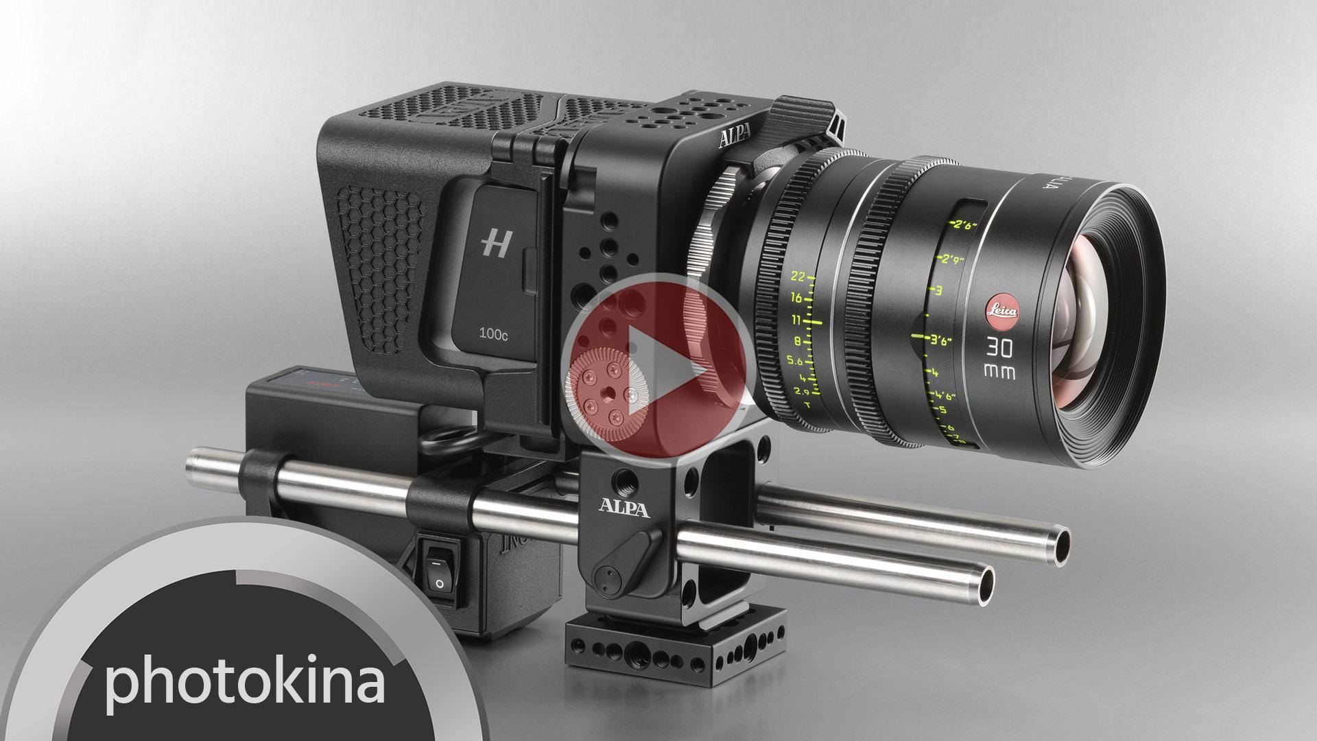 ALPAがPLATONカメラを発表 - ハッセルブラッド対応の中判4K RAWビデオカメラケージ