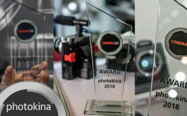 cinema5D Photokina Awards 2018 - FUJIFILM 4K Medium Format, Panasonic Full Frame & I'm Back