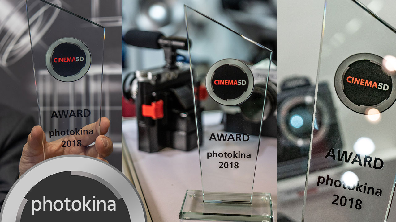 cinema5D Photokina Awards 2018 - FUJIFILM 4K Medium Format, Panasonic Full Frame & I'm Back