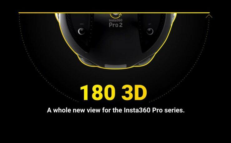 Insta360 Updates Pro Camera Series With 180° Capture