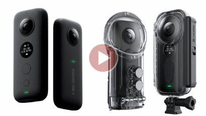 Insta360 ONE X Announced - Shoot First, Point Later