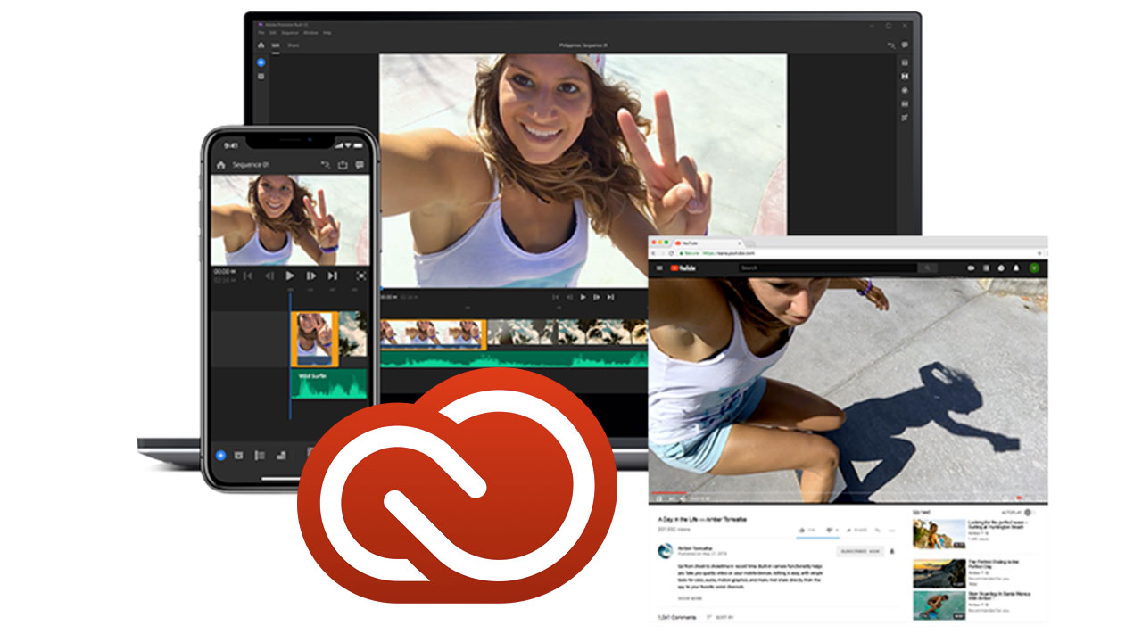 Adobe Launches Premiere Rush CC - Video Editing for YouTubers on Mobile Devices