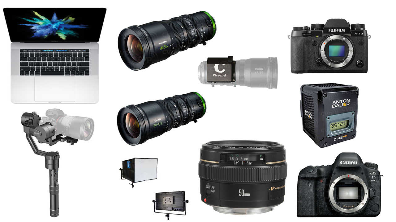 This Week's Top 10 Deals for Filmmakers – FUJINON Lenses, Apple, Canon, Zhiyun-Tech Crane and more