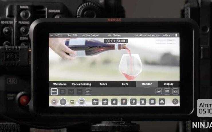 AtomOS 10 Supercharges Your Ninja V Monitor/Recorder