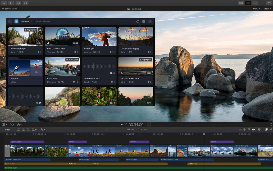 Final Cut Pro X 10 4 4 Update Brings Noise Reduction & Built-In