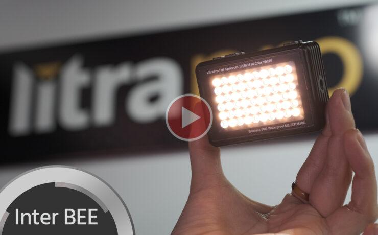 LitraPro - Waterproof, Rugged, Bi-Color LED Light for Adventure Filmmakers