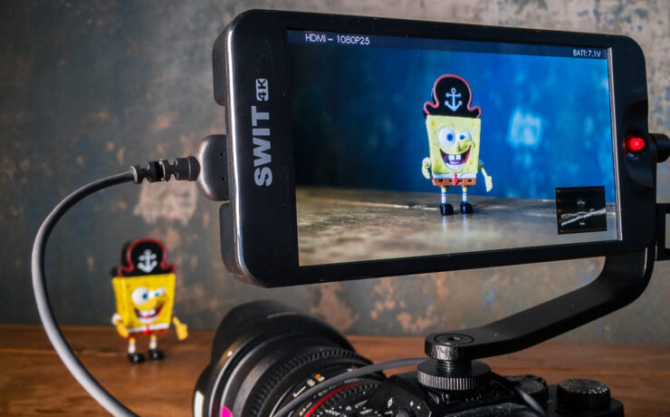 """SWIT CM-55 C – A Very Affordable LUT-Enabled 5.5"""" Monitor"""