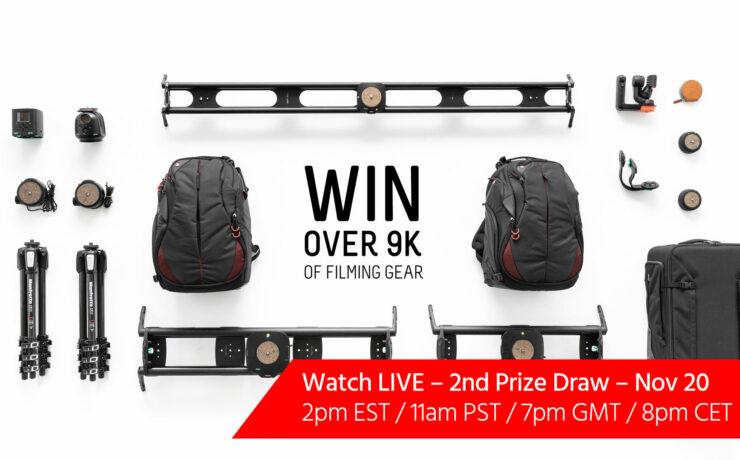 Win $9000 Worth of Filmmaking Gear with Syrp, Renan Ozturk & cinema5D