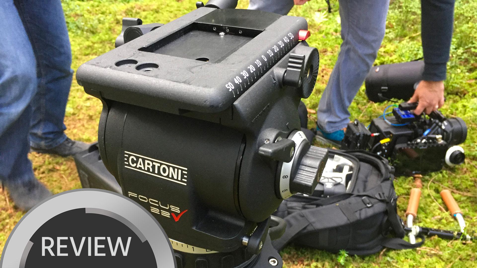 Reseña del Cartoni Focus 22 - Un sistema de trípode más asequible para cámaras pesadas