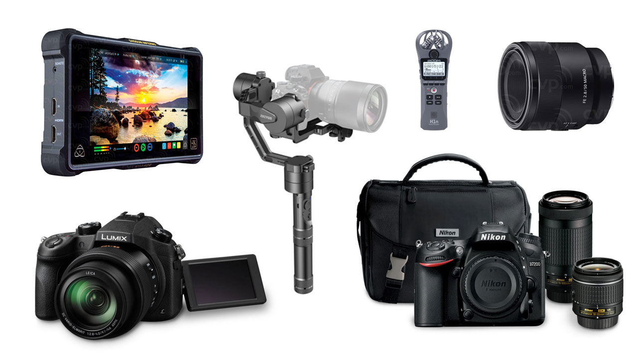 Las 10 mejores ofertas de la semana – Nikon D7200, Zhiyun Crane, Canon 100mm Macro, Atomos Shogun Inferno y más