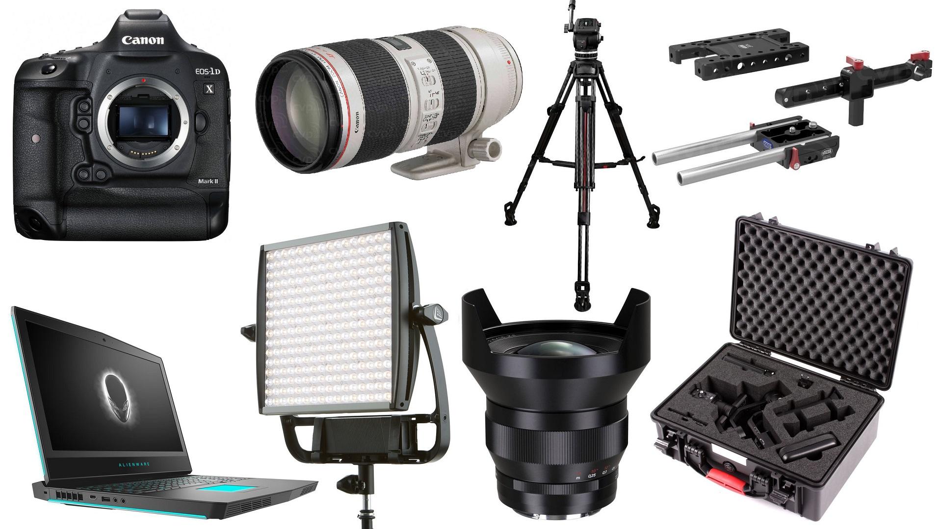 Las 10 mejores ofertas para cineastas de esta semana: Canon 1DX Mark II, lente ZEISS, Litepanels y más