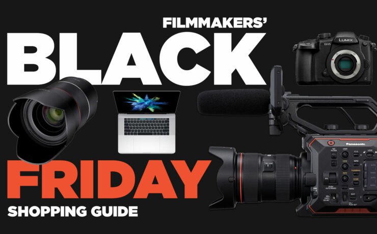 Filmmakers' Black Friday Shopping Guide - GH5, A9, 80D, EVA-1, MZED, DJI and much more