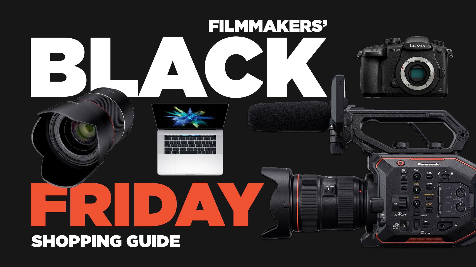 Guía de Compras de Black Friday para cineastas: GH5, A9, 80D, EVA-1, MZED, DJI y mucho más