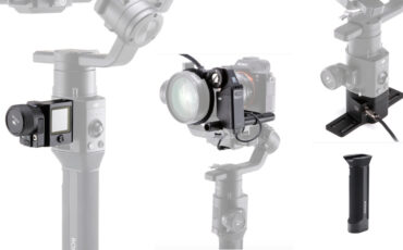 DJI Ronin-S Gets New Accessories - Focus Motor, Battery Grip, GPS and more