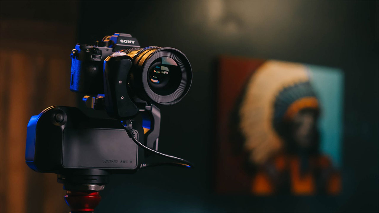 Rhino Arc II - 4 Axis Motorized Head and Slider for Automated Camera Movement