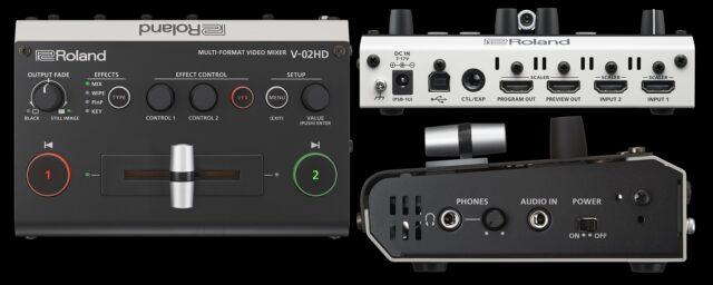 Roland V-02HD – World's Smallest Video Mixer