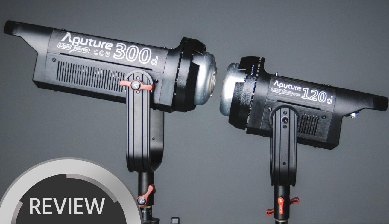 Aputure LS C300d vs C120d Review - The Bright Future of LED