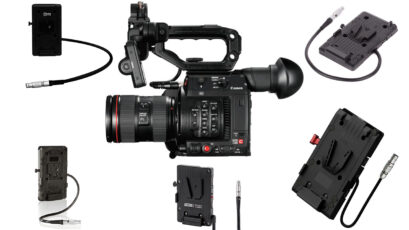 Powering Options for Canon C200 & C300 Mark II Cameras