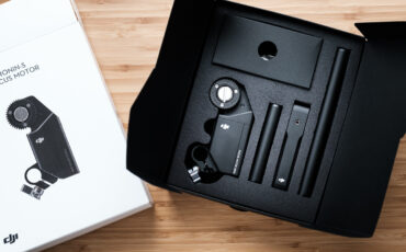 DJI Ronin-S Focus Motor Unboxing and First Impressions