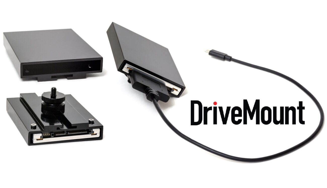 "DriveMount - Easily Attach a 2.5"" SSD to the BMPCC 4K - Now on Kickstarter"