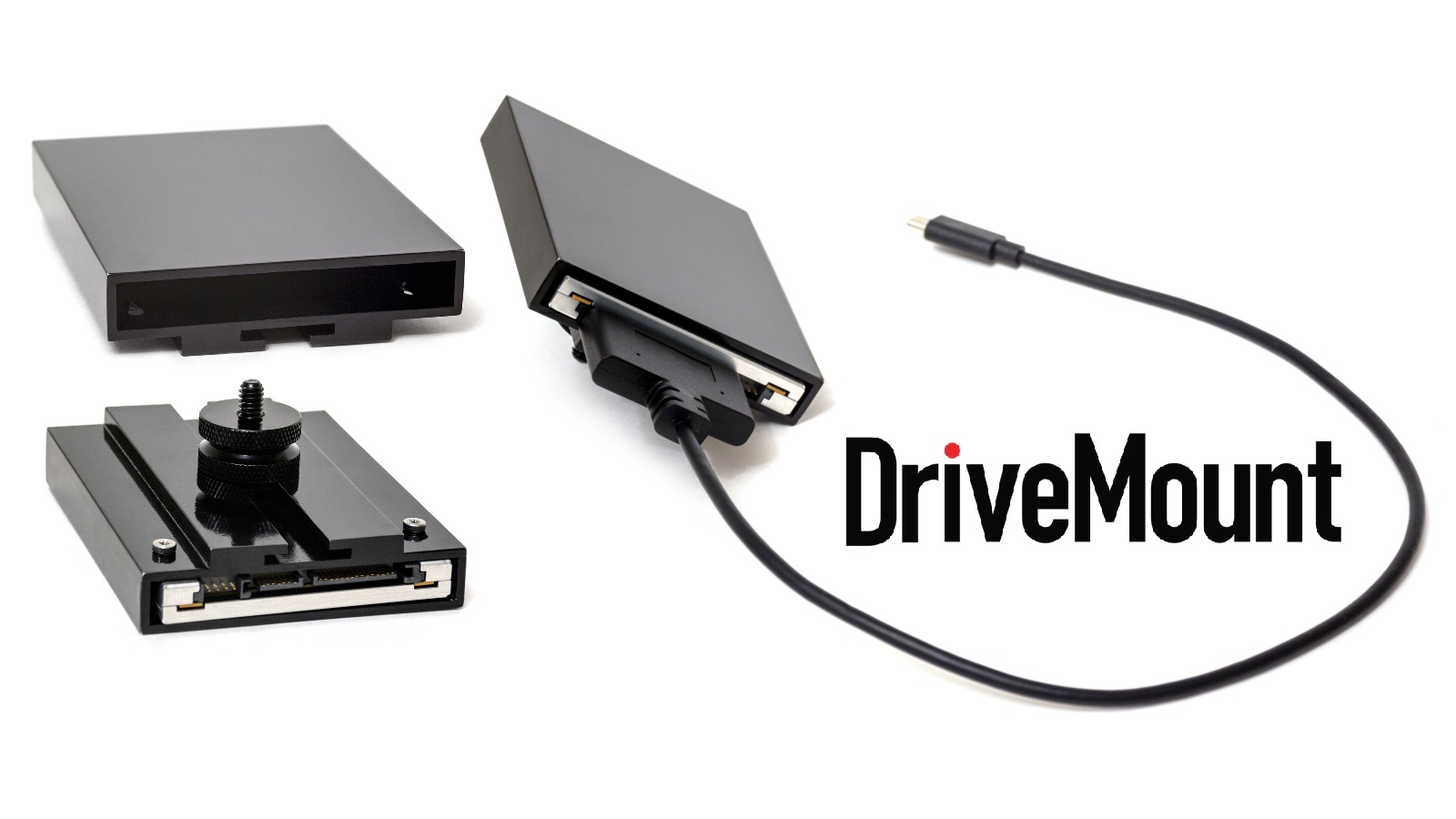 DriveMount: conecta fácilmente un SSD de 2.5″ a la BMPCC 4K – ahora en Kickstarter