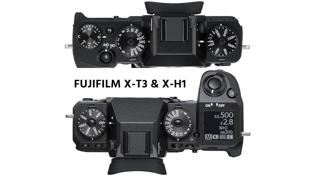 FUJIFILM X-T3 and X-H1 Firmware Updates Now Available