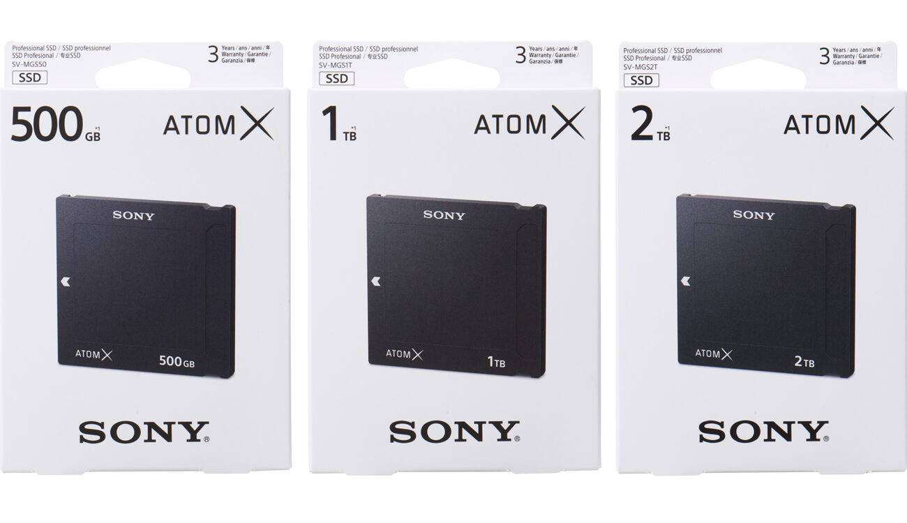 Sony Announces AtomX SSDmini Drives