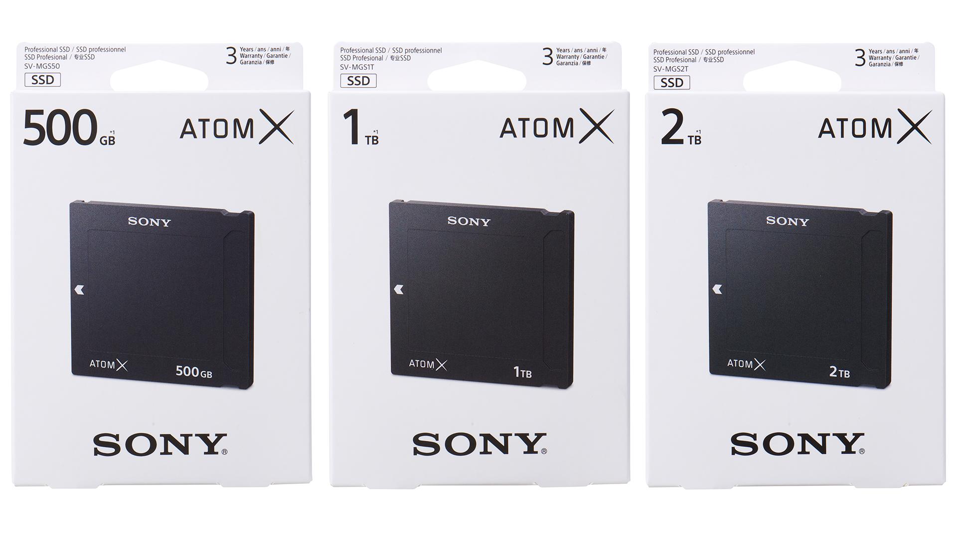 Sony anuncia sus unidades AtomX SSDmini