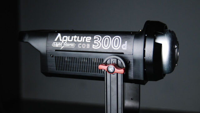 Aputure LS C300d LED light