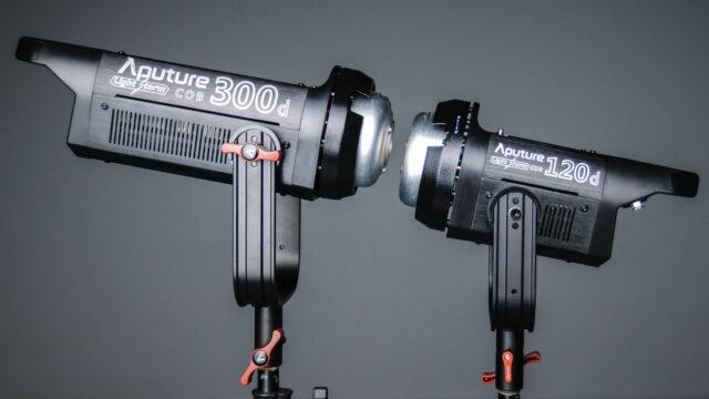 Aputure LS C300d vs C120d