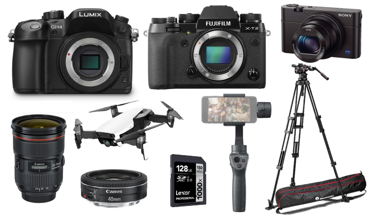 This Week's Best Xmas Deals for Filmmakers – GH4, X-T2, RX100 III, DJI Osmo Mobile 2 and More