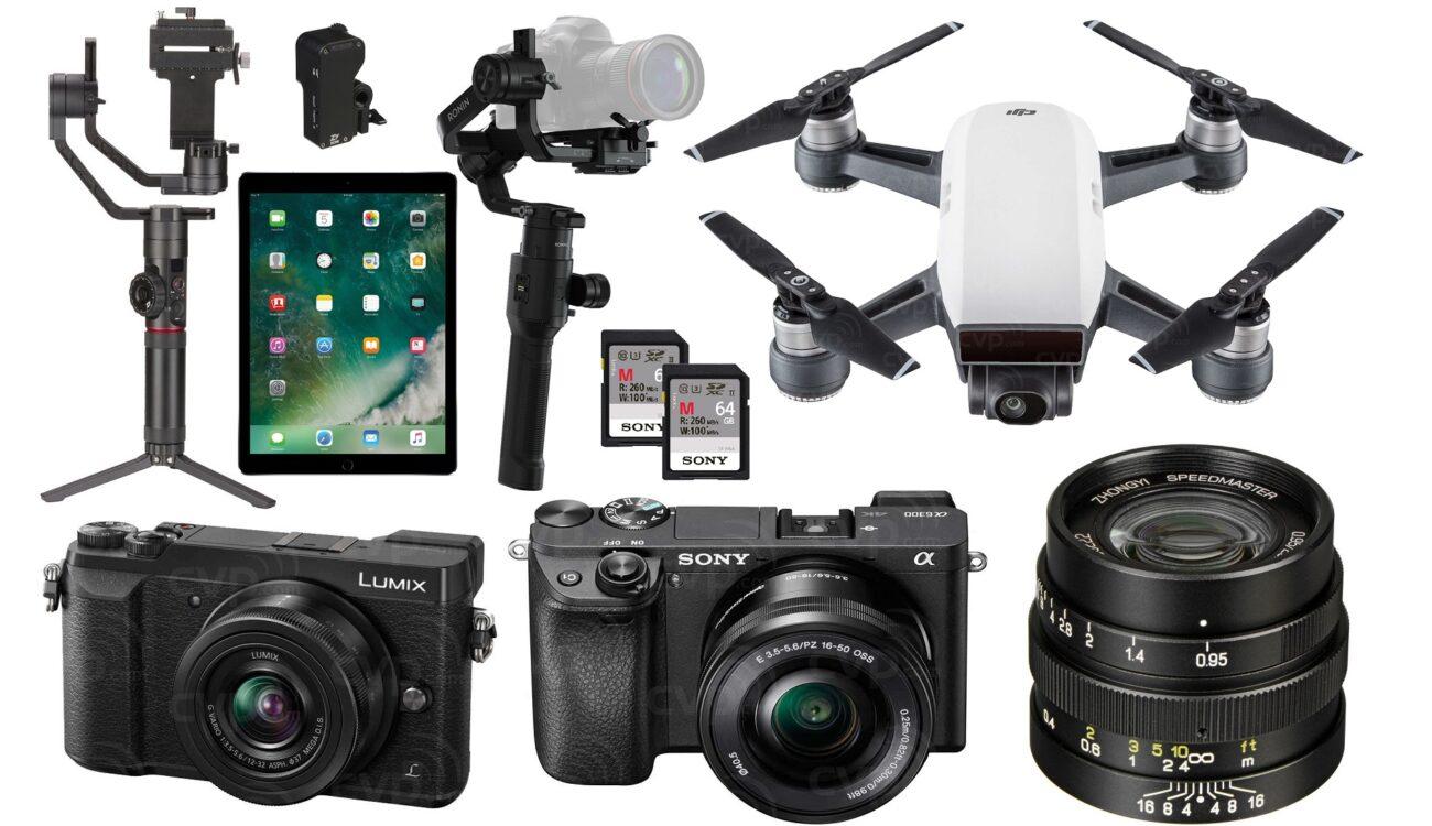 Top 10 Last Minute Xmas Deals for Filmmakers – Ronin-S, Crane 2, iPad Pro, DJI Spark and More