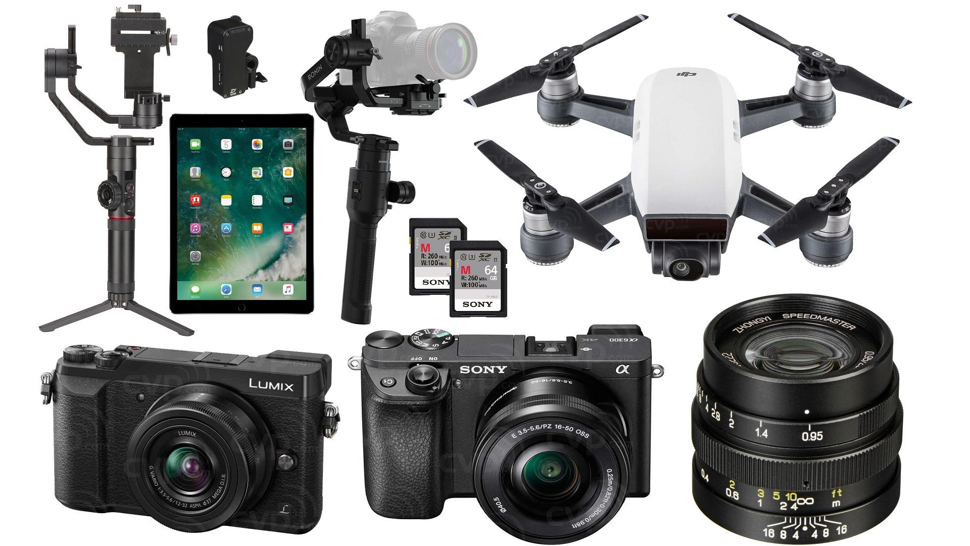 Las 10 mejores ofertas navideñas de último momento para cineastas: Ronin-S, Crane 2, iPad Pro, DJI Spark y más