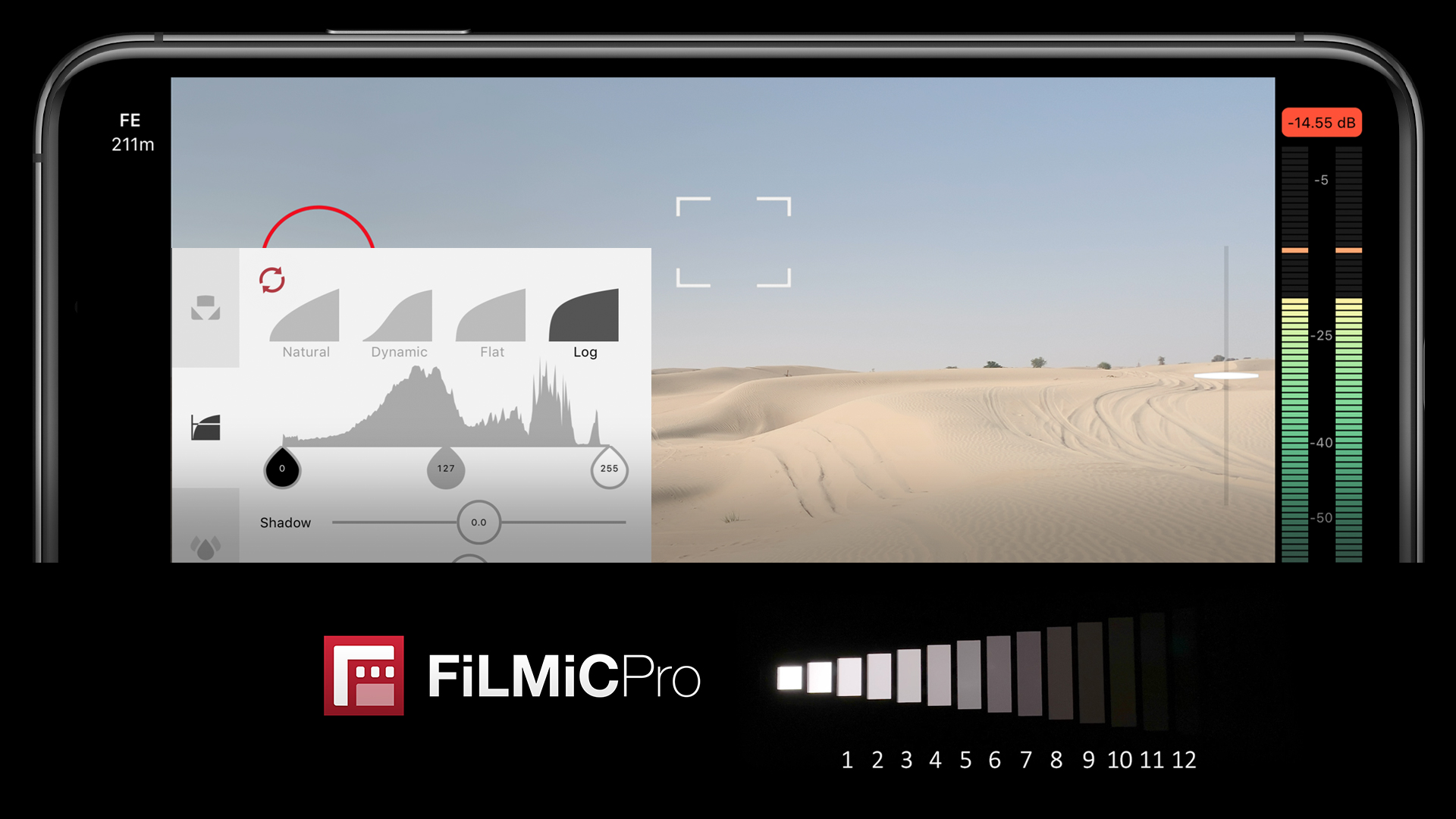 FiLMiC LogV2 - iPhoneでダイナミックレンジ12stopを実現